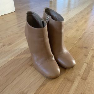 Sam Edelman Leather Ankle Boots Size 9.5